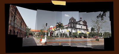 naga metropolitan cathedral photomerge