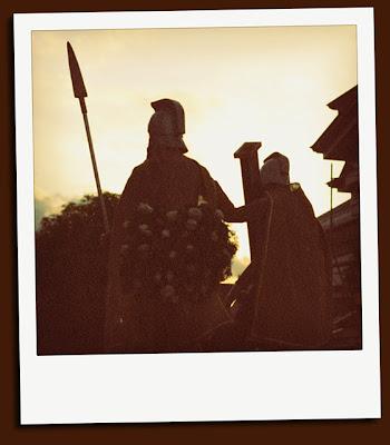 holy week procession, nabua
