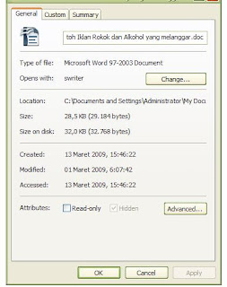Kembalikan File Terhidden Virus 4
