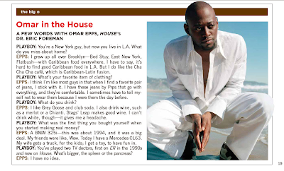 Omar Epps Interview