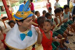 Um Projeto de ação social realizado pelos pais do Mundo do Peteleco(Escola do nosso coração)