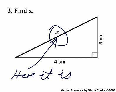 find x joke