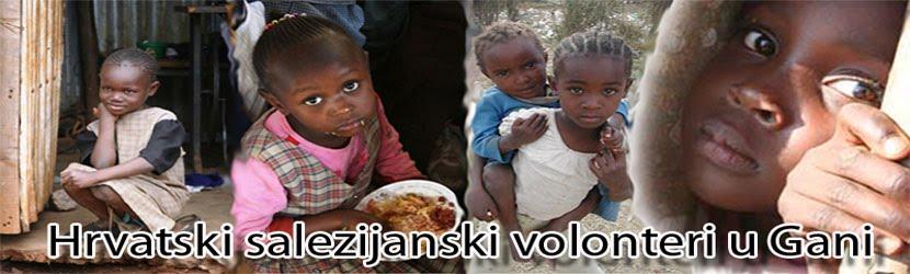 Hrvatski salezijanski volonteri u Gani