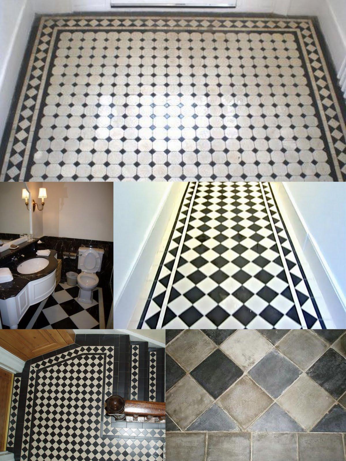 Badrum rutigt golv ~ xellen.com