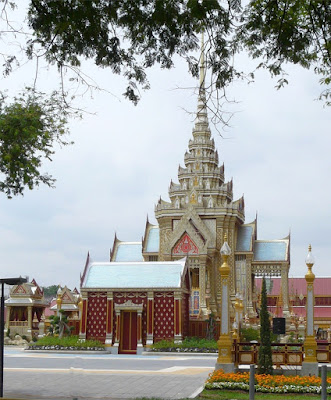 Temporary monument for Royal Cremation in Bangkok