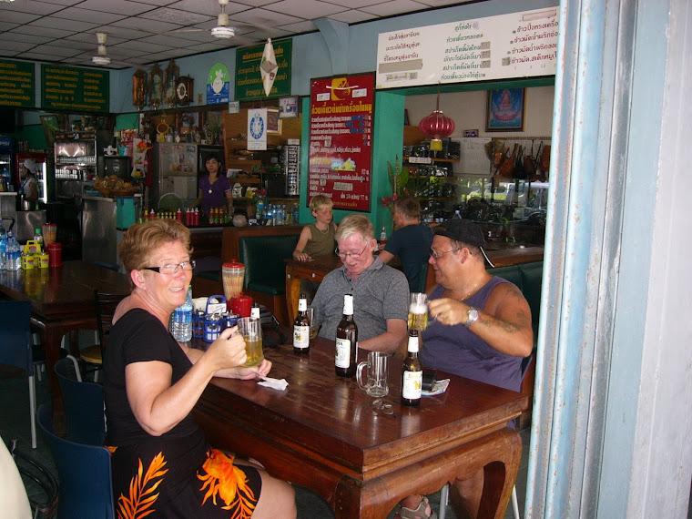 Anki och Börje  i phuket town