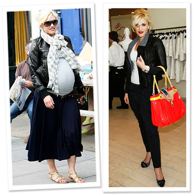 gwen+stefani+antes+e+depois+da+gravidez Famosas Celebridades Gravidas antes e depois da Gravidez