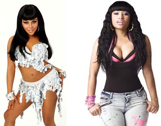 nicki minaj family photos. Nicki Minaj New Look.