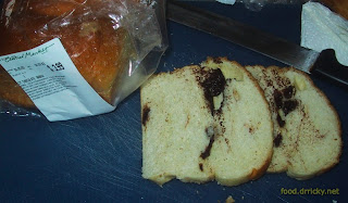 Slices of Central Market Babka - not a good thing