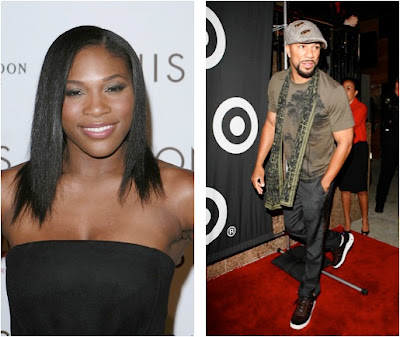 common rapper shirtless. Serena Williams and Common#39;s