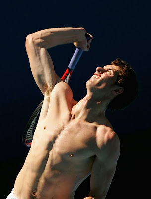 andy murray shirtless. OP: Murray makes Shirtless