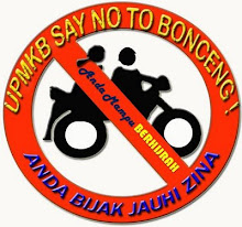 UPMKB Say No To Bonceng