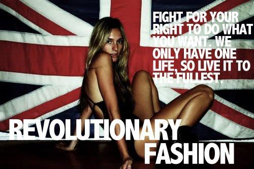 revolutionary fashion
