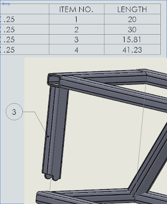 Wedlmetn Cut length for complicated cuts in Solidworks