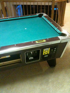 Sheridan Billiards Valley Coin Operated Pool Table - Valley coin operated pool table