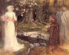 Dante and Beatrice: Waterhouse