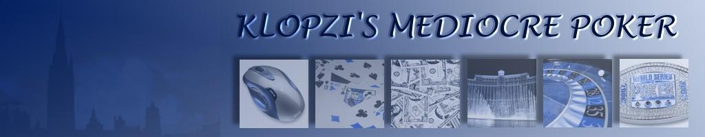 Klopzi's Mediocre Poker