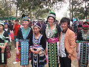 Us white girls dressed up in Hmong clothing drew quite a bit of attention.