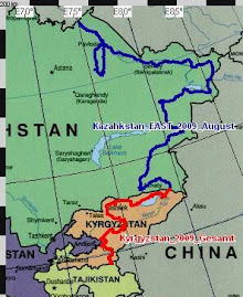 Route Kazahkstan & Kyrgyzstan