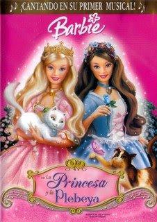 Barbie +En+La+Princesa+Y+La+Plebeya Colección de barbie 12 DVDs