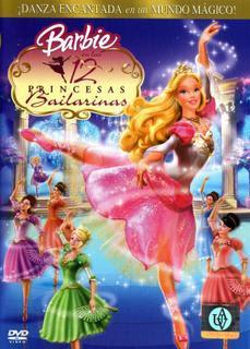 Barbie+En+Las+12+Princesas+Bailarinas Colección de barbie 12 DVDs