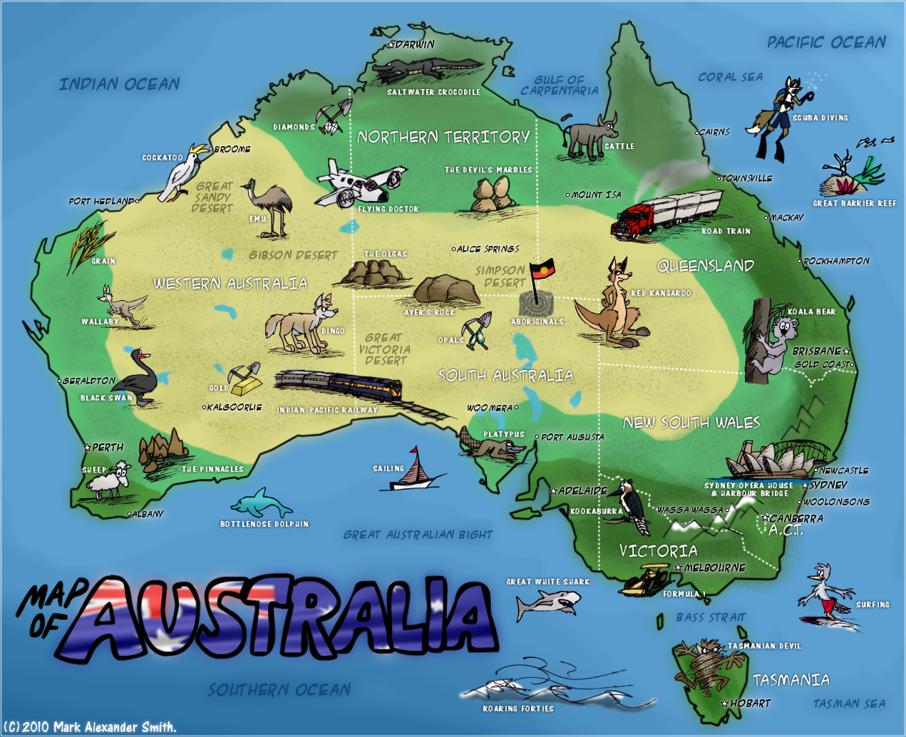 Map Of Australia East Coast Detailed Inland Rail Corridor Route – East Coast Tourist Attractions Map