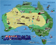Map Of Australia. The fourth in my series of cartoon mapsas you can tell . (mapofaustralia)