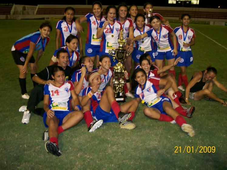 FORTALEZA BAIRRO SINHÁ SABÓIA - CAMPEÃO  FEMININO 2009