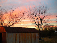 sunset dusk twilight arkansas outdoors