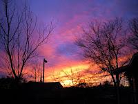 sunset dusk twilight arkansas outdoors