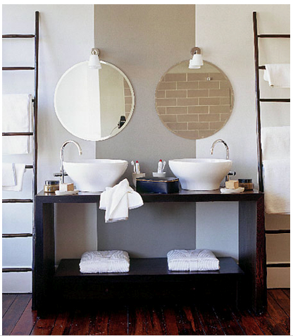 Bathroom Mirrors Contemporary on Natural Modern Interiors Small Bathroom Design Ideas Mirrors Wallpaper
