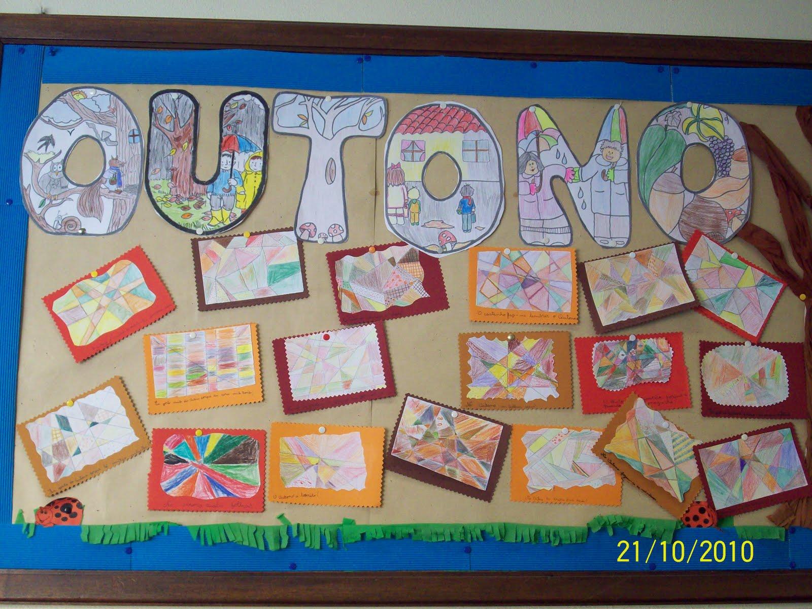 ideias para o outono jardim de infancia : ideias para o outono jardim de infancia:Escola Monte Aventino: TRABALHOS DE OUTONO
