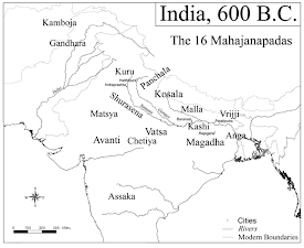 ancient India at the time of the Buddha