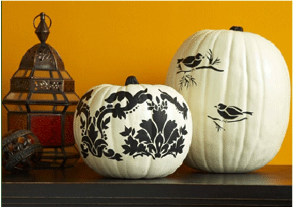 Love Painted Pumpkins