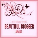 Beautiful Blogger Award From Julie