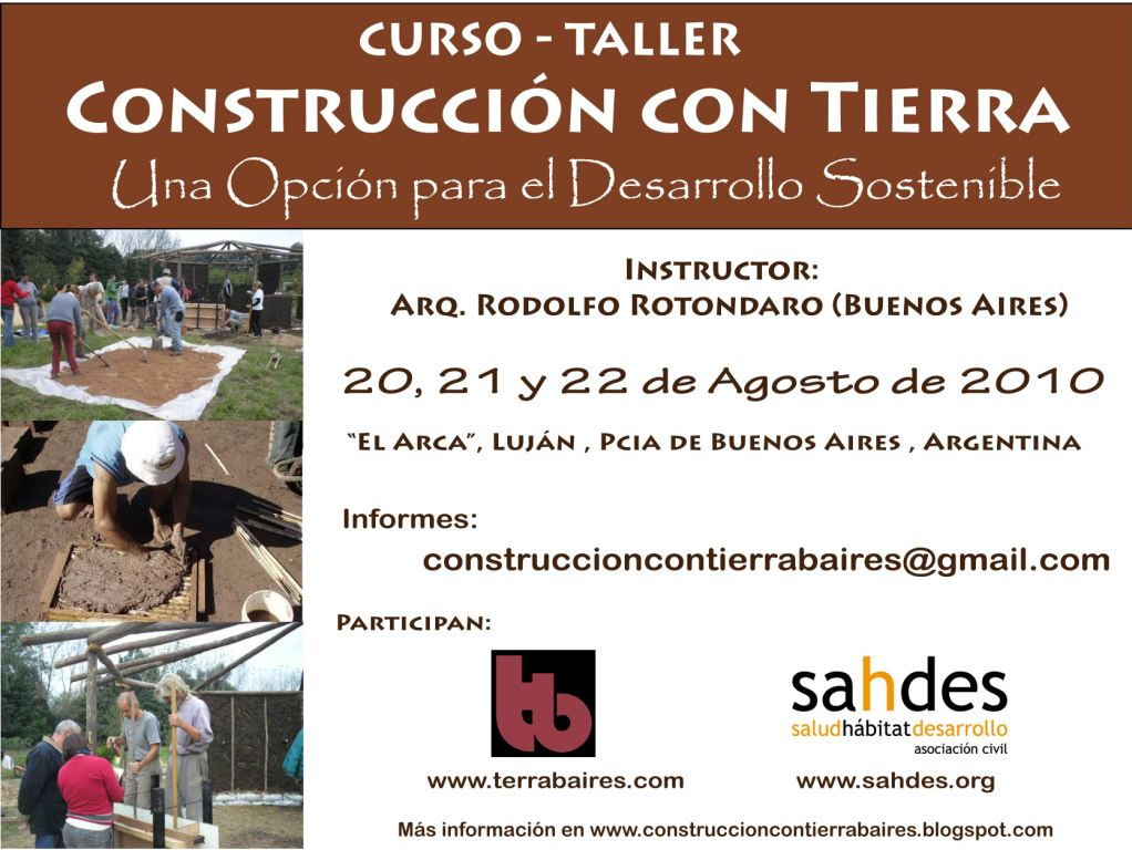 the roof above my head: Curso- Taller Construcción con ...