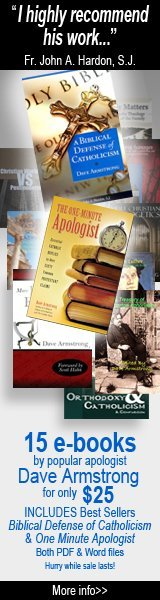 Dave Armstrong's Catholic Apologetics Bookstore