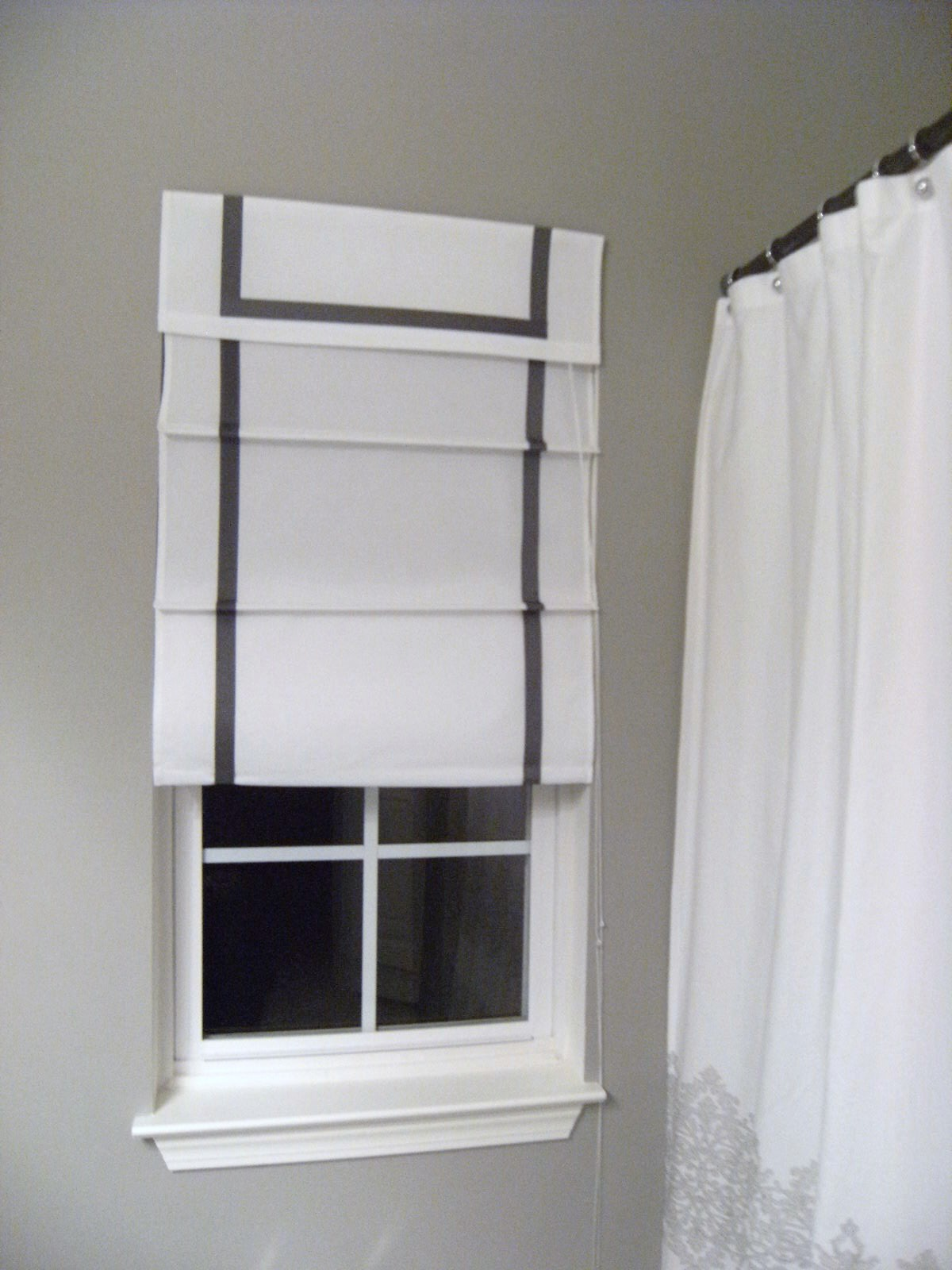 Southgate Residential Diy Ribbon Edged Roman Shades