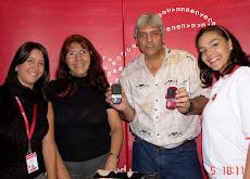 SORTEO en el Espacio Interactivo Jorge y Carlos Son los ganadores de los celulares Palm