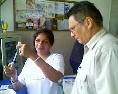 UNE OPERATIVO de Vacunación FEBRERO 2008. Primera dosis