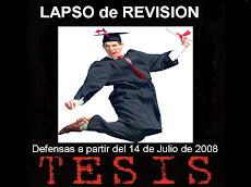 Comenzó en la UNE el proceso de asignación de Tesis 2008.