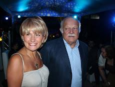 Oswaldo Yepez y esposa Lisbeth Corbo en esta noche de ensueño.