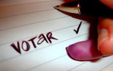 Terminamos los examenes ! Ahora a sacar 20 en votar este 15 de febrero