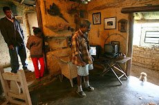 """""""Cuando los budares eran de piedra"""", los habitantes de Turgua construían sus casas cerca de las..."""