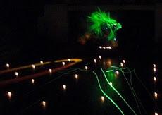 Concierto de musica y luces laser inundaron espacios del Centro de Recreación y Cultura de la UNE.