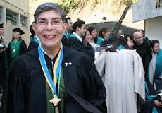 Profesora Digna de Rivas en Grado33  conversando sobre la Historia Contemporánea de Venezuela
