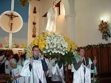 Celebraciones de la Virgen de Fátima este sábado 30 y domingo 31 de Mayo en el pueblo de El Hatillo