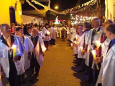 Gran alegría y devoción en las celebraciones de la Virgen de Fátima en El Hatillo