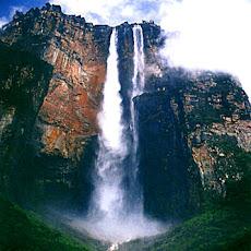 El Salto del Ángel, finalista de las nuevas 7 maravillas naturales, ocupa el tercero en la lista