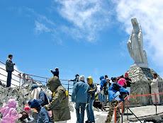 Ntra. Sra. de Las Nieves está en el Pico Espejo en el Teleférico de Mérida